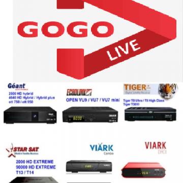 Buy GOGO IPTV Code Online | SAT-STORE