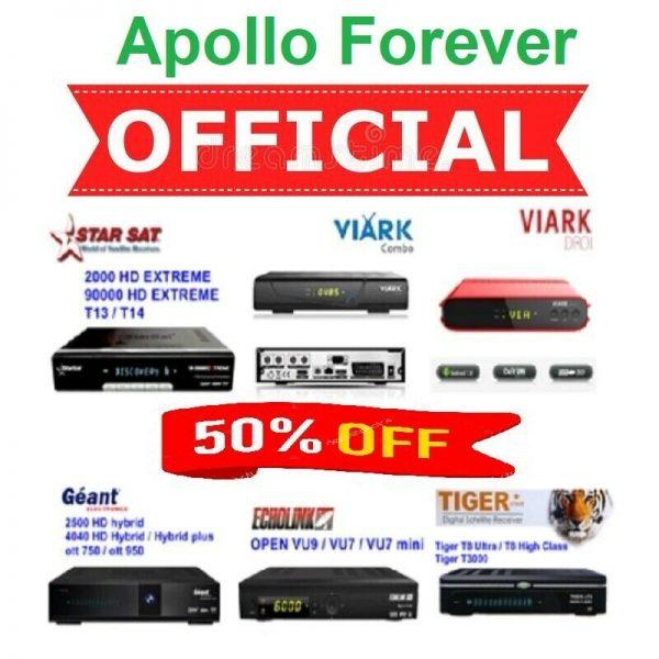 Buy Forever Apollo IPTV Server Online