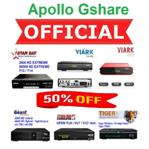 Buy Gshare Apollo IPTV Server Online