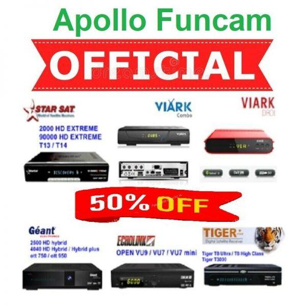 Buy Funcam Apollo IPTV Server Online