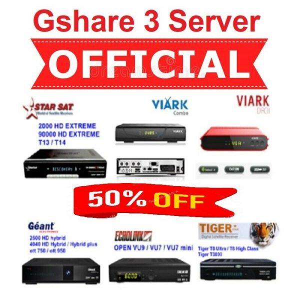 Renew Gshare Server Online