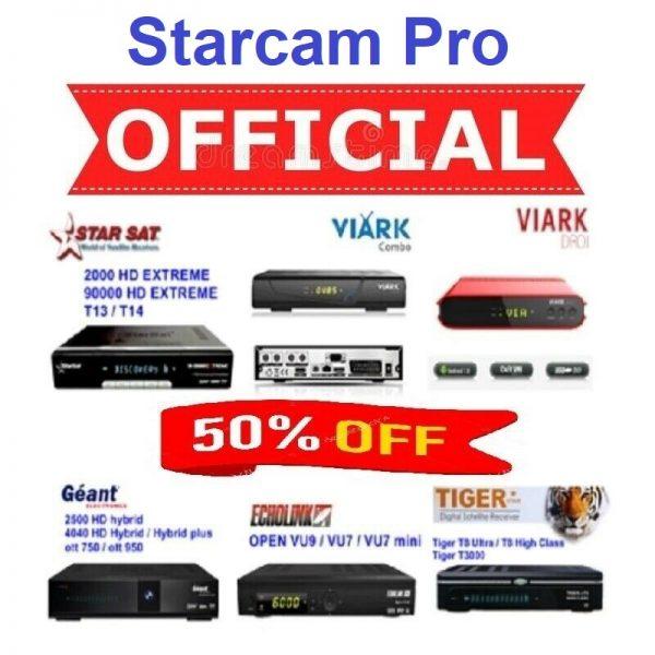 Renew Starcam Pro Server Online
