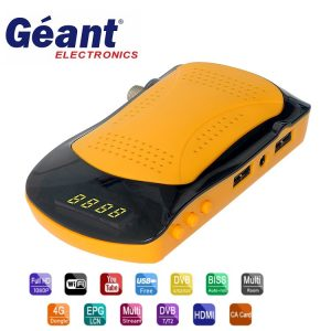 GEANT-RS8 MINI HD PLUS SATELLITE TV RECEIVER SERVER FUNCAM + IPTV 12 MONTHS DVB S2
