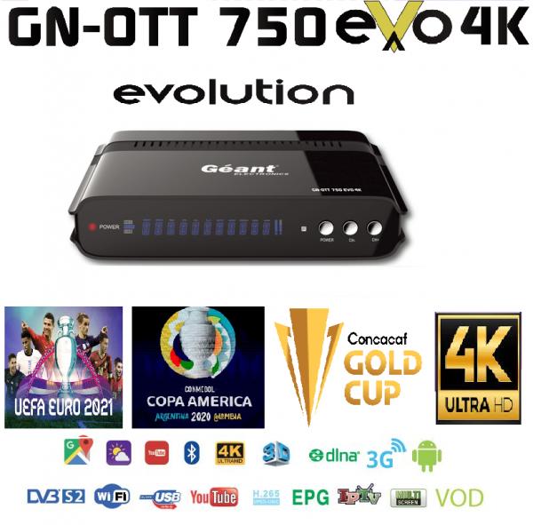 GN-OTT 750 EVO 4K