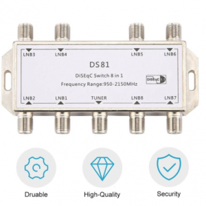DiSEqC Switch LNB Receiver Multiswitch